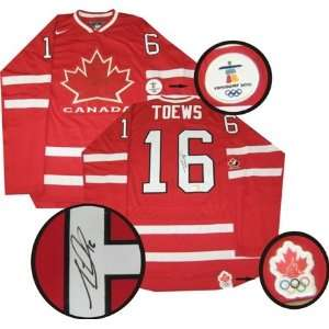 Jonathan Toews Autographed/Hand Signed Jersey Team Canada