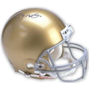 Joe Montana Signed Notre Dame Pro Helmet Sports