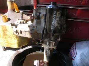 S10 TRANSFER CASE 1995 CHEVY 4X4 4.3L 5 SPEED