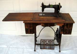 1920s Montgomery Wards Damascus Sewing Machine