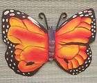 COTTAGE STYLE DENNIS EAST MEAL BUTTERFLY WALL HANGINGS   BRUISED
