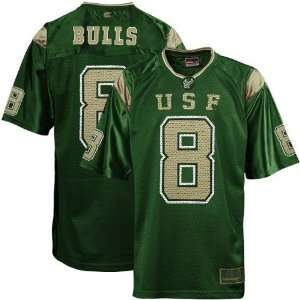 NCAA South Florida Bulls #8 Green Rivalry Football Jersey