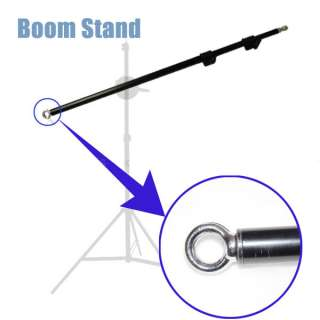 Pro Heavy Duty Photo Video Combo BOOM & Light Stand