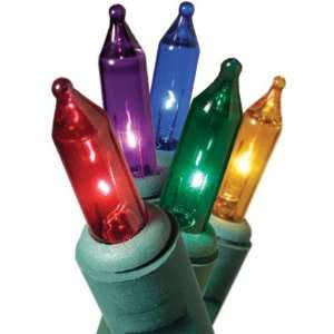 Ge 100 Ct. Multi colored Christmas Light Set Everything