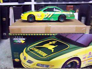 JOHN DEERE #97 DIECAST STOCK CAR 1/18TH SCALE WITH CASE