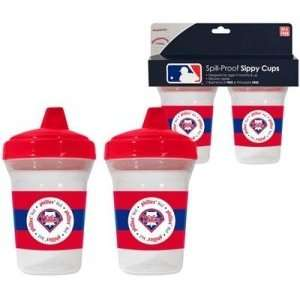 Philadelphia Phillies MLB Baby Sippy Cup   2 Pack