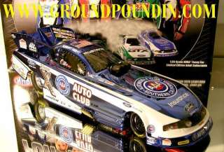 RCCA ONLY COLORCHROME 2011 Robert Hight AAA NHRA Ford Mustang Funny