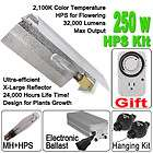250 Watt Digital HPS Grow Light XL Wing Reflector Hood 250W Hydroponic