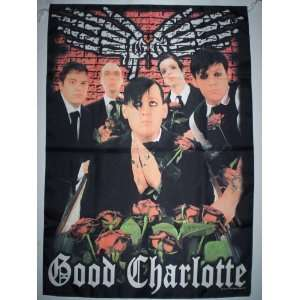 GOOD CHARLOTTE 5x3 Feet Cloth Textile Fabric Poster