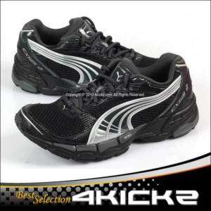 Puma Cell Exsis 2 Black Dark Mens Running Sport Shoes