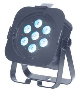 American DJ FLAT PAR TRI7 Low Profile DMX LED Par 640282001946