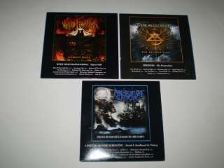 heavy metal cd lot 3 promo cds firewind, + dead hands + ex