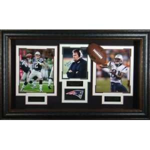 New England Patriots   Signed & Framed   Collage Display