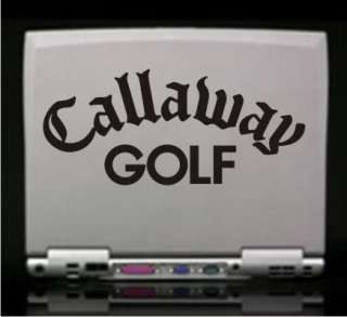 Callaway Golf Vinyl Decal Sticker  Car Truck Laptop