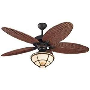 52 Monte Carlo Cruise Wet Ceiling Fan with Light Kit