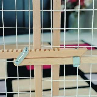 NORTH STATES Wire Mesh Gate 4610, Natural Wood 026107046109