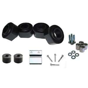 Jeep Wrangler TJ 2 Inch Complete Polyurethane Lift Spacer Kit With