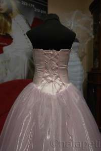 FLOWER GIRL PAGEANT PARTY PRINCESS DRESS 3086 LIGHT PINK SIZE 6 8