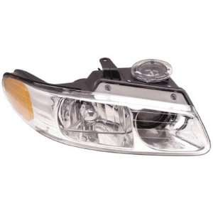 00 00 CHRYSLER TOWN&COUNTRY Right Headlight (W/ QUAD LAMP