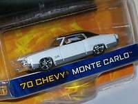 Jada Dub City 164 White & Black 70 Chevy Monte Carlo