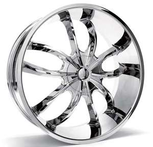22 INCH SIK 002 CHROME RIMS AND TIRES BUICK PARK AVE