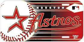 CAR/AUTO LICENSE PLATE HOUSTON ASTROS MLB BASEBALL