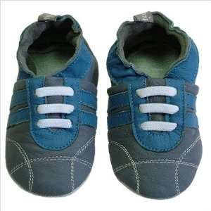 Tommy Tickle TT SPWCH Baby Soft Soles Sport Shoes Color Gray / Cobalt