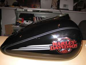 HARLEY TOURING 2006 ULTRA VIVID BLACK GAS TANK WILL FIT 03 07
