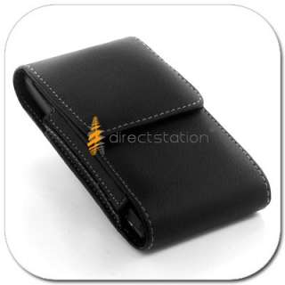 Leather Case Cover Pouch Holster Clip For Tmobile Samsung Galaxy S 2