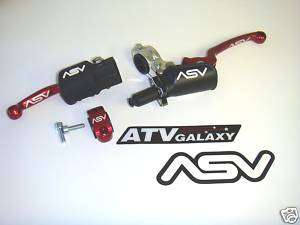 ASV Holiday Brake & Pro Clutch Levers Honda CR125/CR250