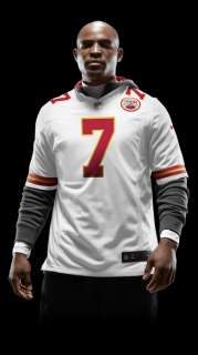 NFL Kansas City Chiefs (Matt Cassel) Mens Football Away Game Jersey
