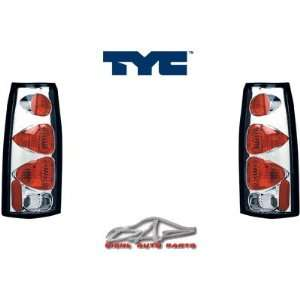 Chevy CK Tail Lights JDM Euro Chrome Taillights 1988 1989