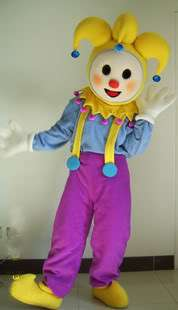 Clown Mascot Costume Outfit Suit Fancy Dress SKU 10332659151