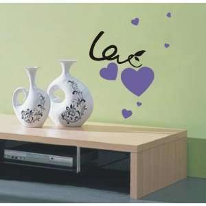 easy Instant Decoration Wall Sticker Deco love me do