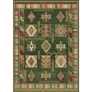Home Dynamix Optimum Green Southwestern Rug   11031 400Runner 19 x 7