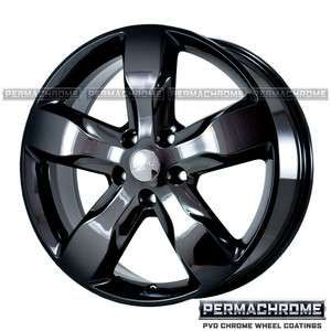 OEM 20 JEEP GRAND CHEROKEE BLACK WHEELS   PERMACHROME   EXCHANGE