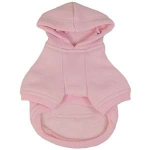 Platinum Pets Dog Sweatshirt Hoodie Dog Coat, Medium, Pink
