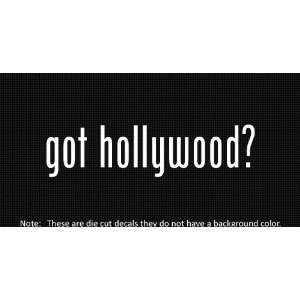 (2x) Got Hollywood   Sticker   Decal   Die Cut   Vinyl