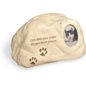 Cat Paws PolyStone Cremation Urn   Cats Leave Paw Prints