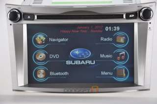 2010 2011 2012 Subaru Outback DVD GPS Navigation Double DIN Radio