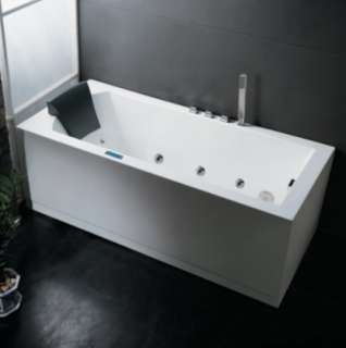 ARIEL PLATINUM 21 JET MASSAGING WHIRLPOOL BATHTUB AM154JDTSZ L