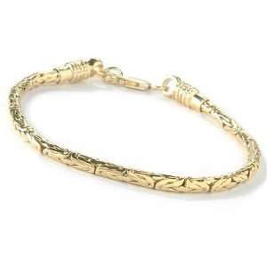 / White, Rose or Yellow Gold Plated 8.75 Mens Bracelet Jewelry