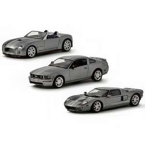 Ford Concept 3 Piece Set Mustang GT/Shelby Cobra Concept