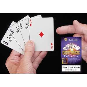 Four Card Monte in Bicycle Playing Card Stock Toys & Games