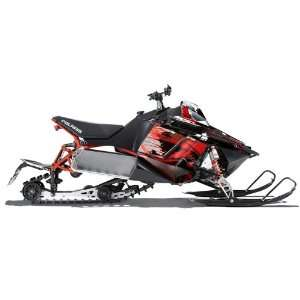 AMR Racing Fits Polaris Pro Rmk Rush Snowmobile Graphic Kit Carbon X