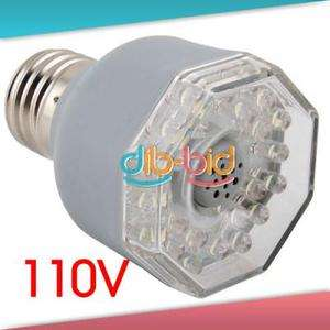 3W 25 LED Sound Control Activated Light Bulb E27 110V