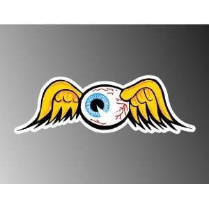VON DUTCH EYEBALL CAR DECAL BUMPER STICKER 2X6
