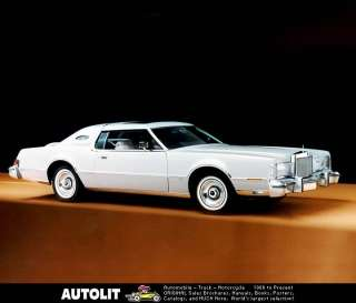 1976 Lincoln Continental Mark IV Factory Photo