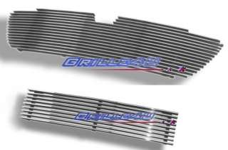 98 02 Lincoln Navigator Stainless Billet Grille Combo