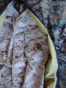 USMC Marine Corps Surplus Woodland MARPAT Uniform Garment Hanger